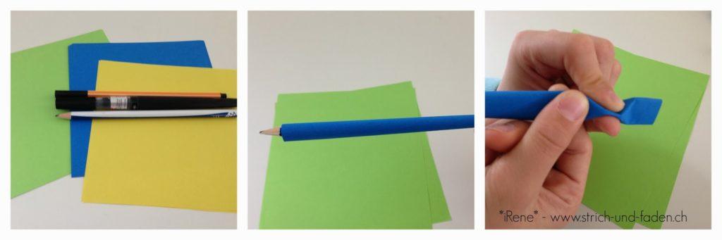 mit Strich und Faden | Fortune Sticks DIY Anleitung