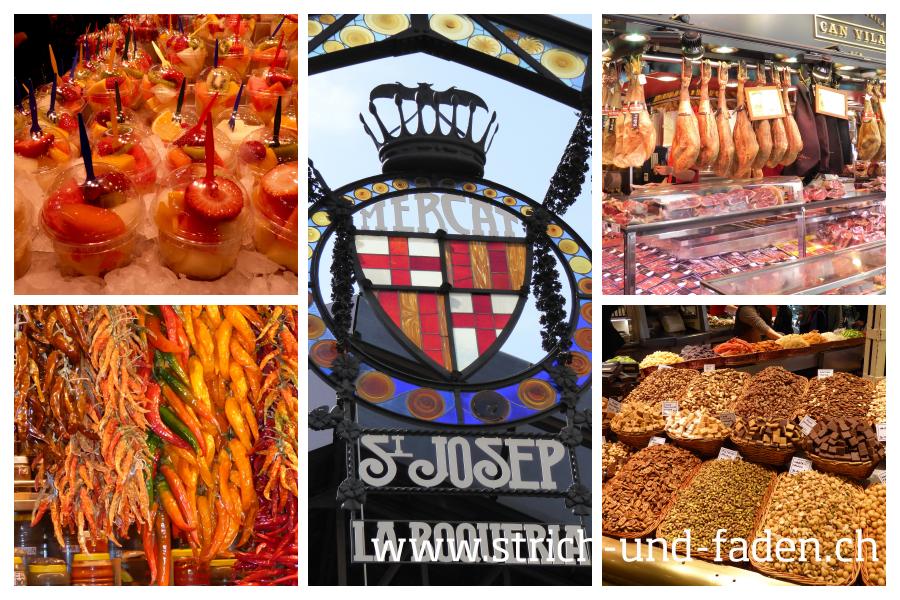 mit Strich und Faden | La Boqueria Barcelona
