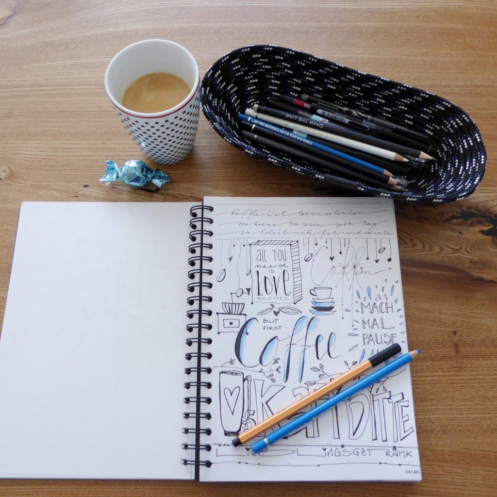 mit Strich und Faden: Ropebowl oval |Coffee Doodle