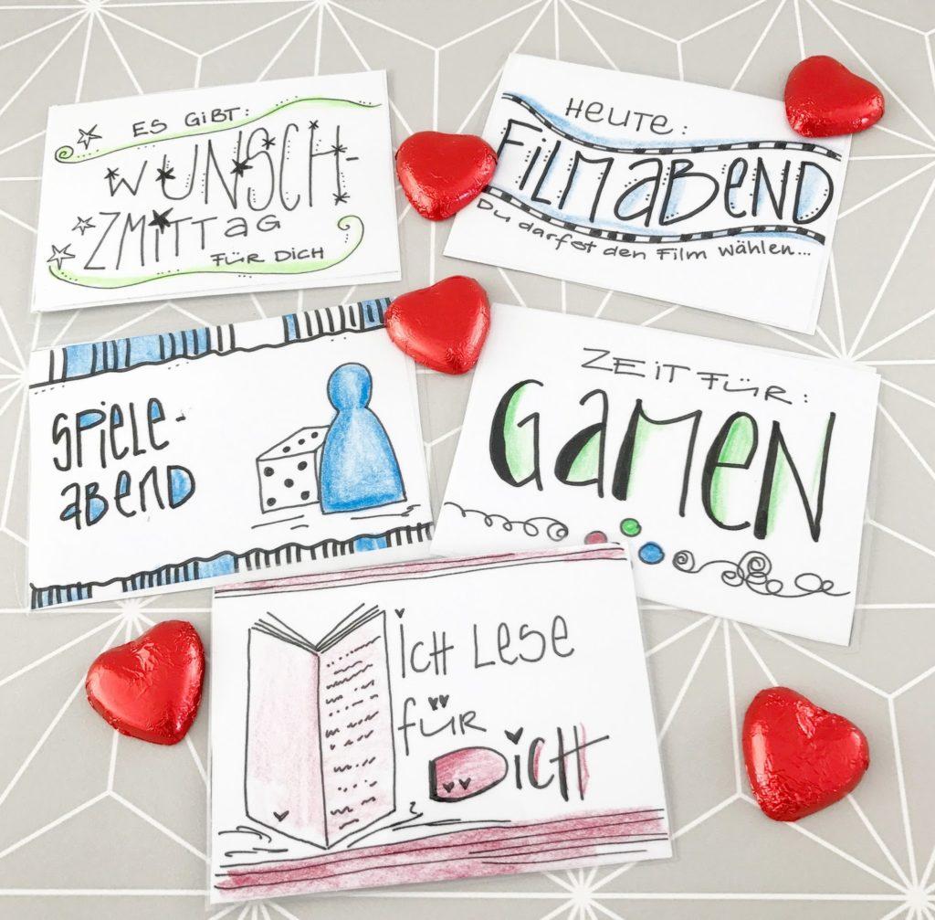 mit Strich und Faden: Belohnungskarten |Wunschkarten