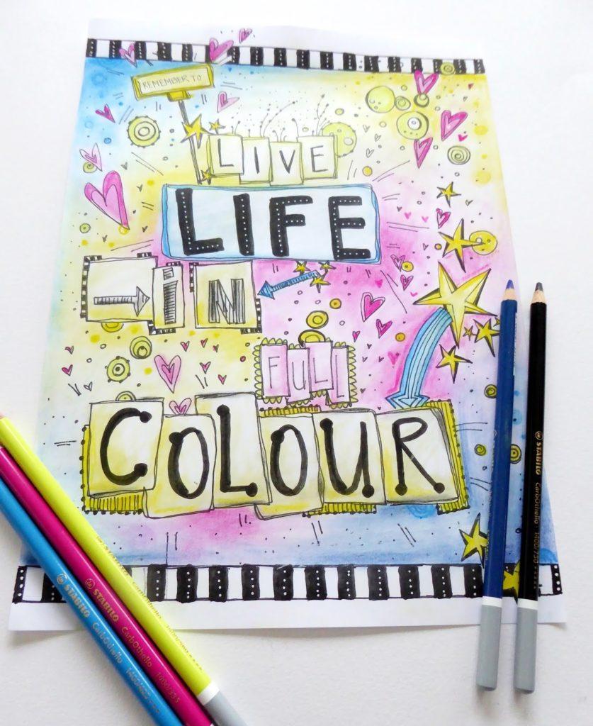 mit Strich und Faden: Live Life in Full Colour
