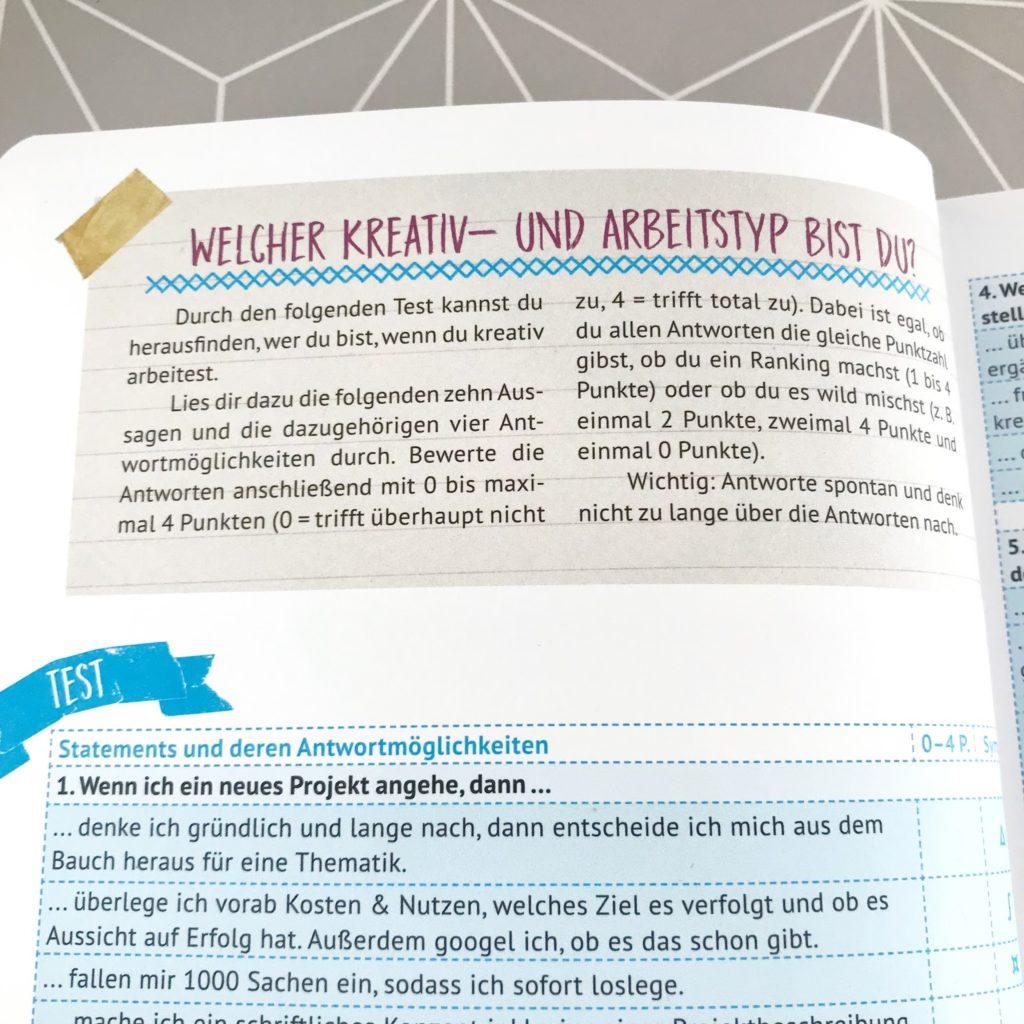 mit Strich und Faden: Fragebogen Kreativtyp